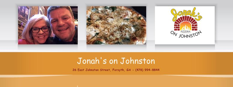 Jonah's on Johnston - 26 East Johnston Street, Forsyth, GA - (478) 994-8844
